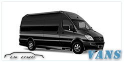 Luxury Van service in Columbus