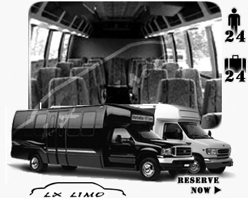 Bus for airport transfers in Columbus, OH