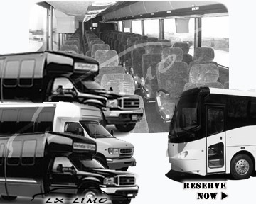 Columbus Bus rental 36 passenger