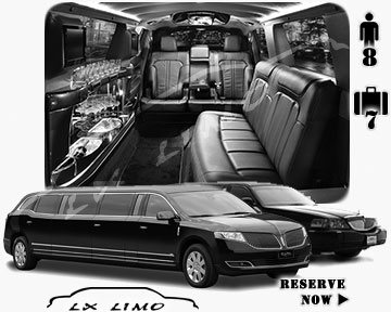 Stretch TownCar Limo for hire in Columbus, OH