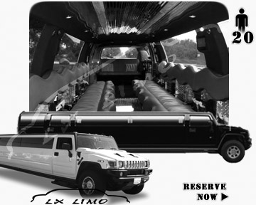 hummer H2 SUV Limo in Columbus, OH