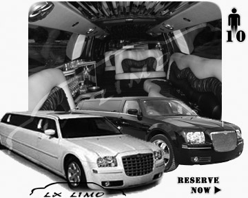 Chrysler 300 Limo for wedding in Columbus